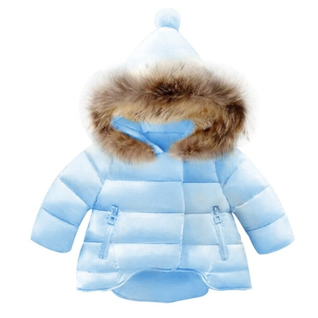Girls Winter Coat With Hood Assorted Styles - Order It All