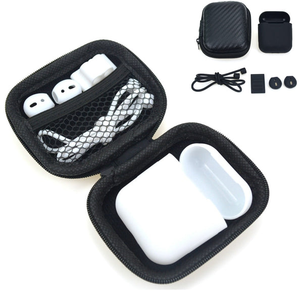 """It's All There"" 5 in 1 Storage Box For Apple AirPods Including Accessories - Order It All"