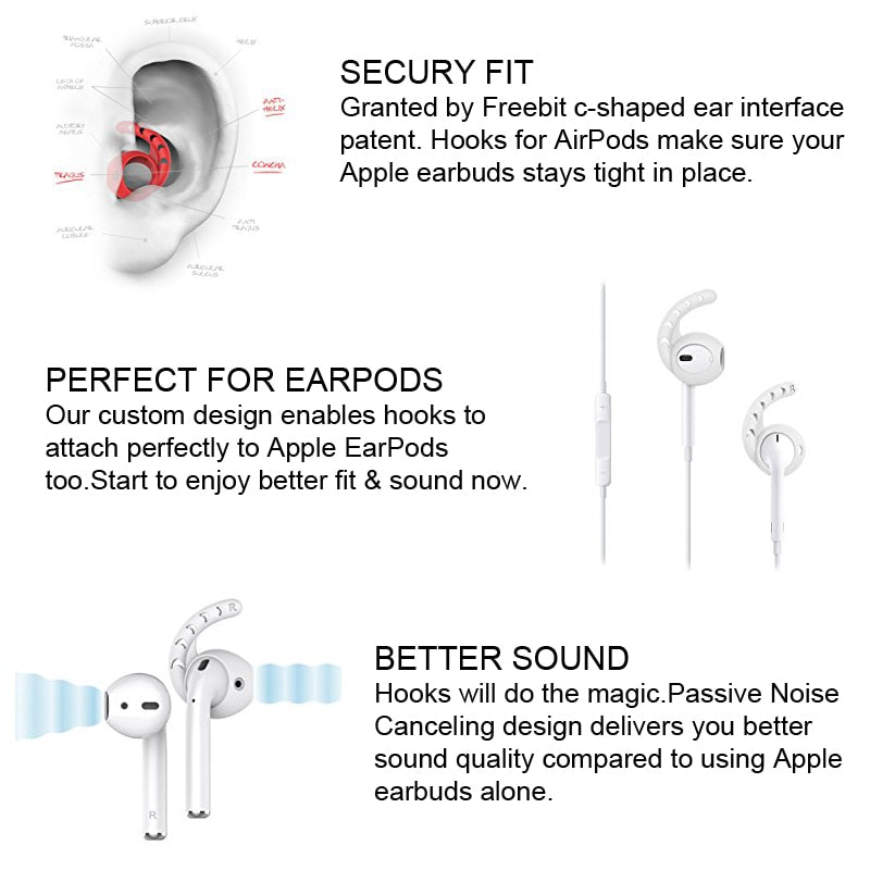Apple Airpods Ear Hooks - Order It All