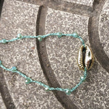 Rope Chain Cowrie Gold Shell Choker Necklace