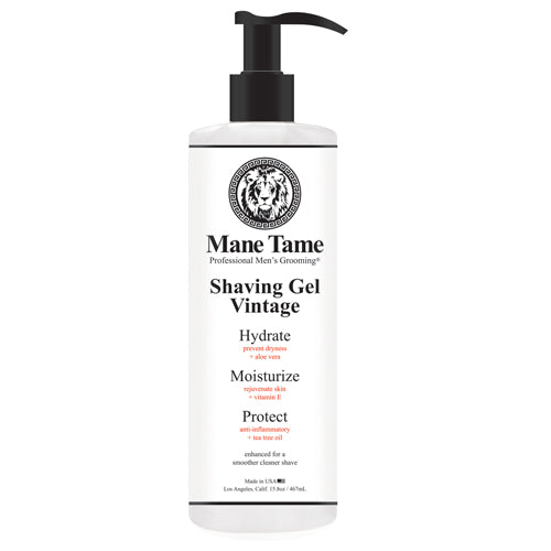 Mane Tame Vintage Shaving Gel 15.8 oz