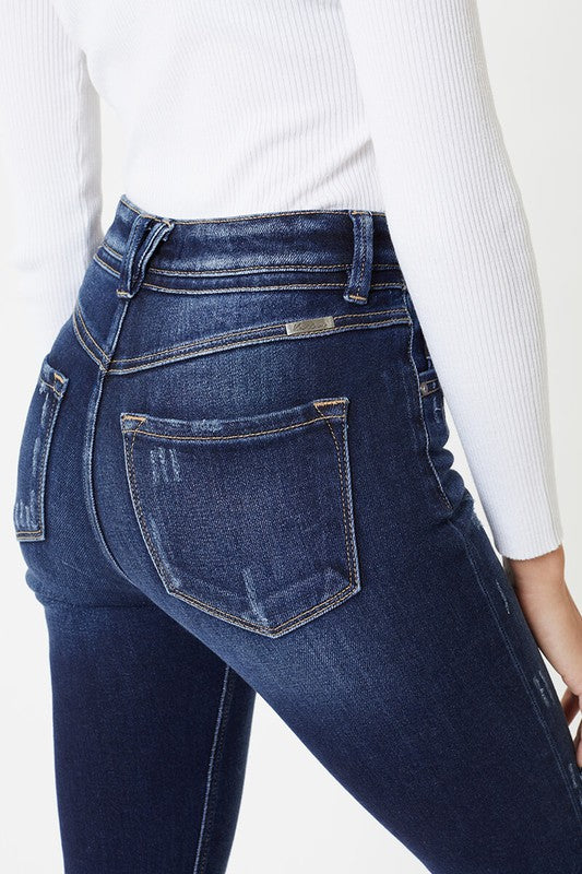 Kan Can Charolette Straight Jeans Terra Cotta