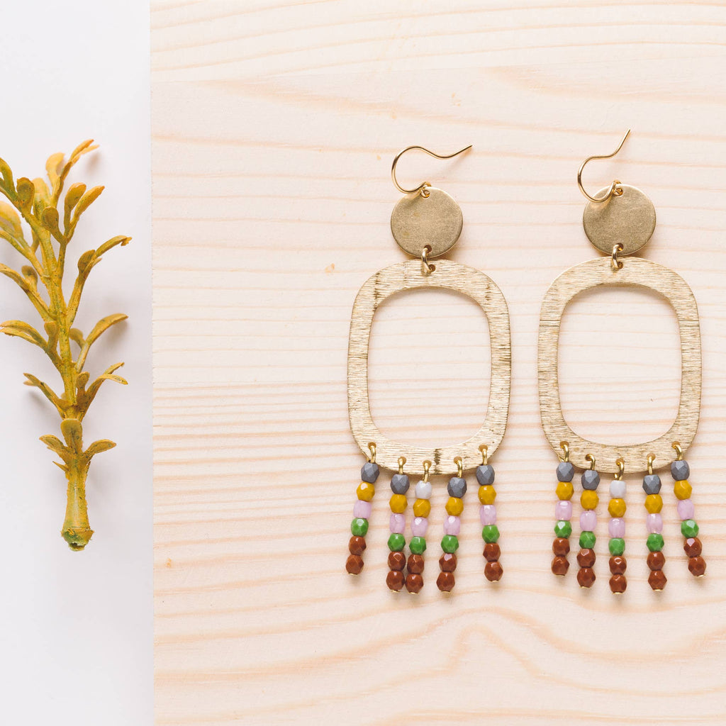 Nest Pretty Things - Long Statement Earrings No.1