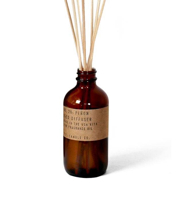P.F. Candle Co. - Piñon - 3 oz Reed Diffuser - Terra Cotta