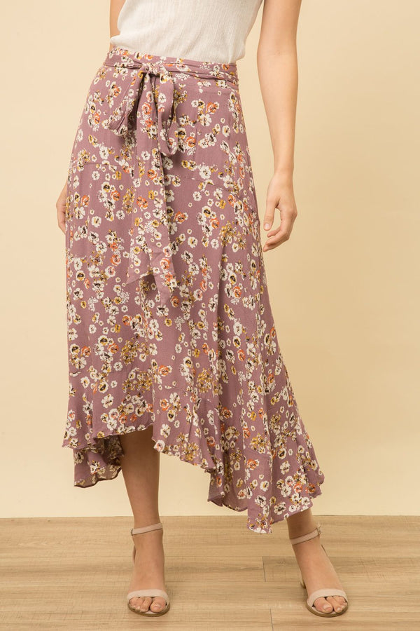 Ditsy Spring Floral Skirt