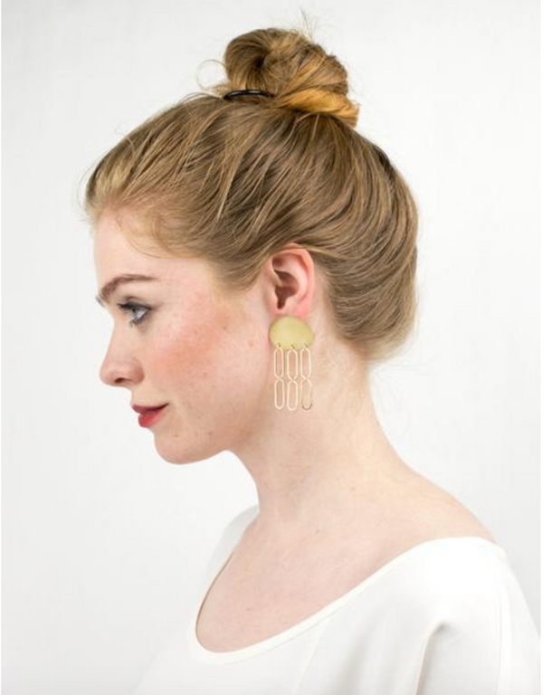 Sway Earrings - Terra Cotta