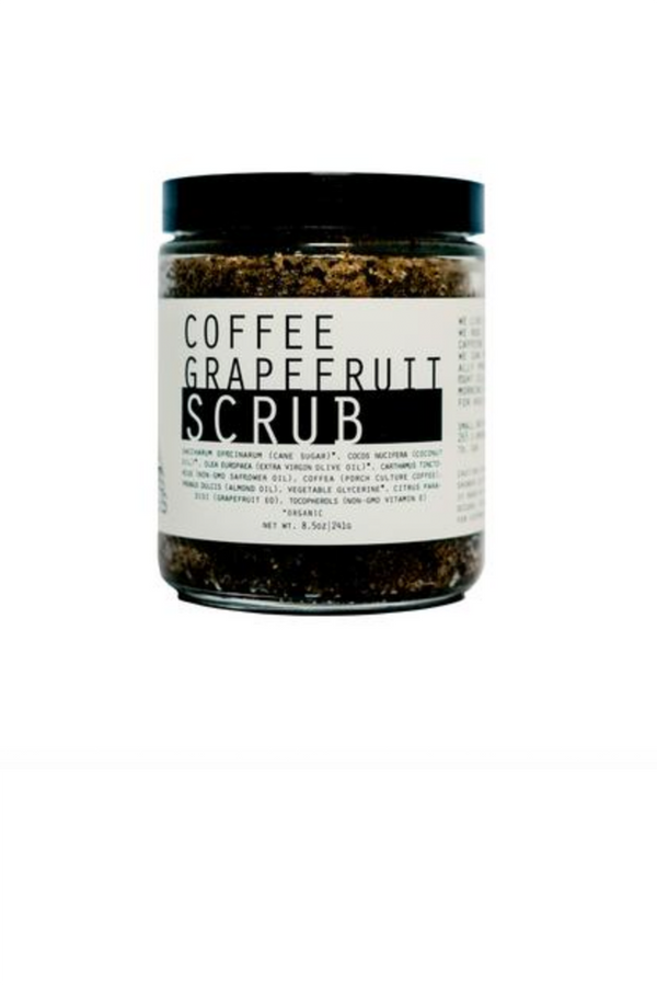 8oz Coffee Grapefruit Scrub - Terra Cotta