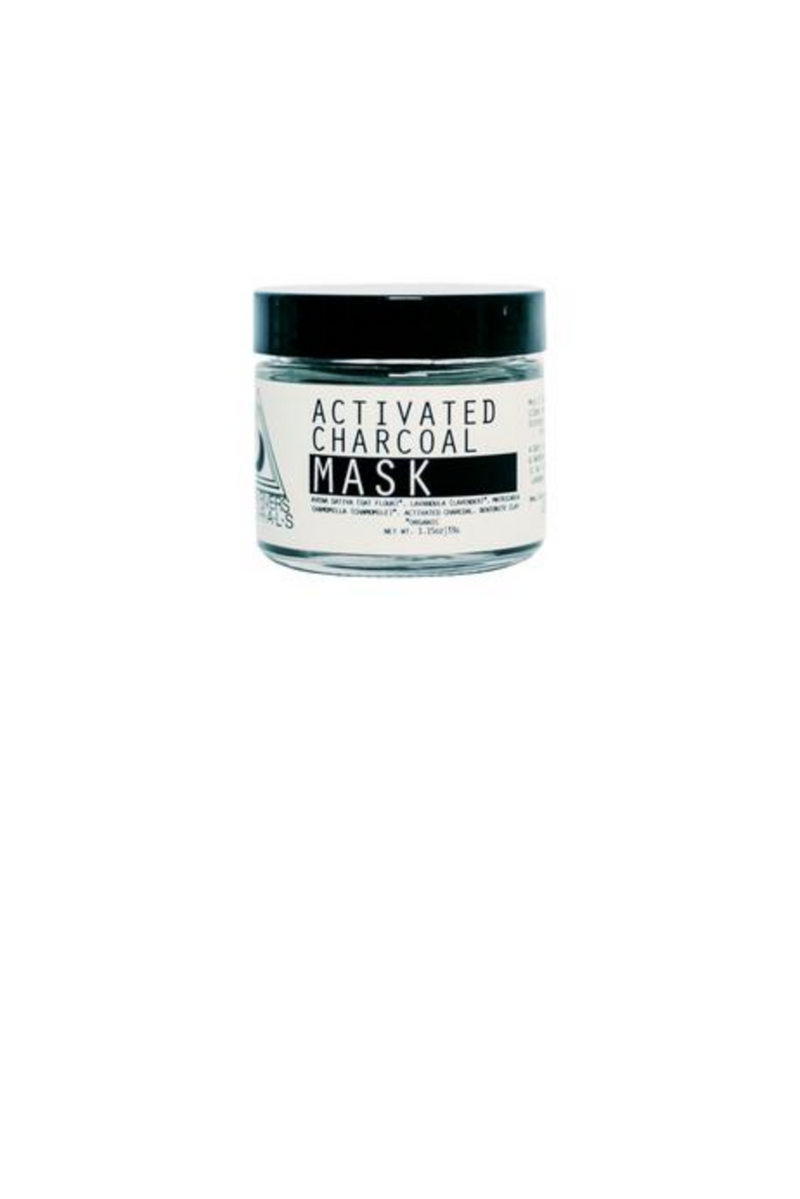 2oz Activated Charcoal Mask - Terra Cotta