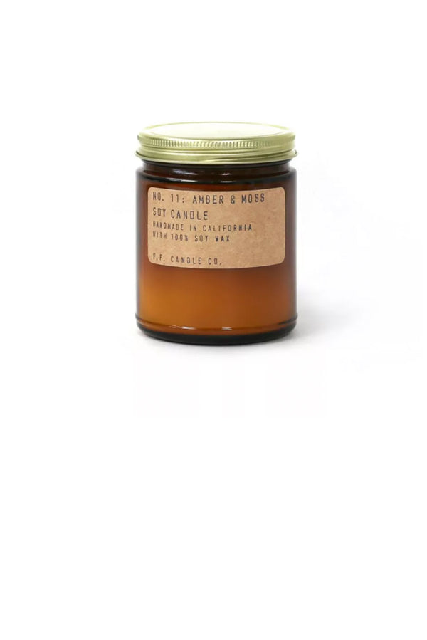 Amber & Moss - 7.2 oz Standard Soy Candle - Terra Cotta