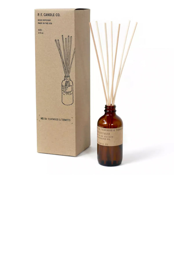 Teakwood & Tobacco - 3 oz Reed Diffuser - Terra Cotta