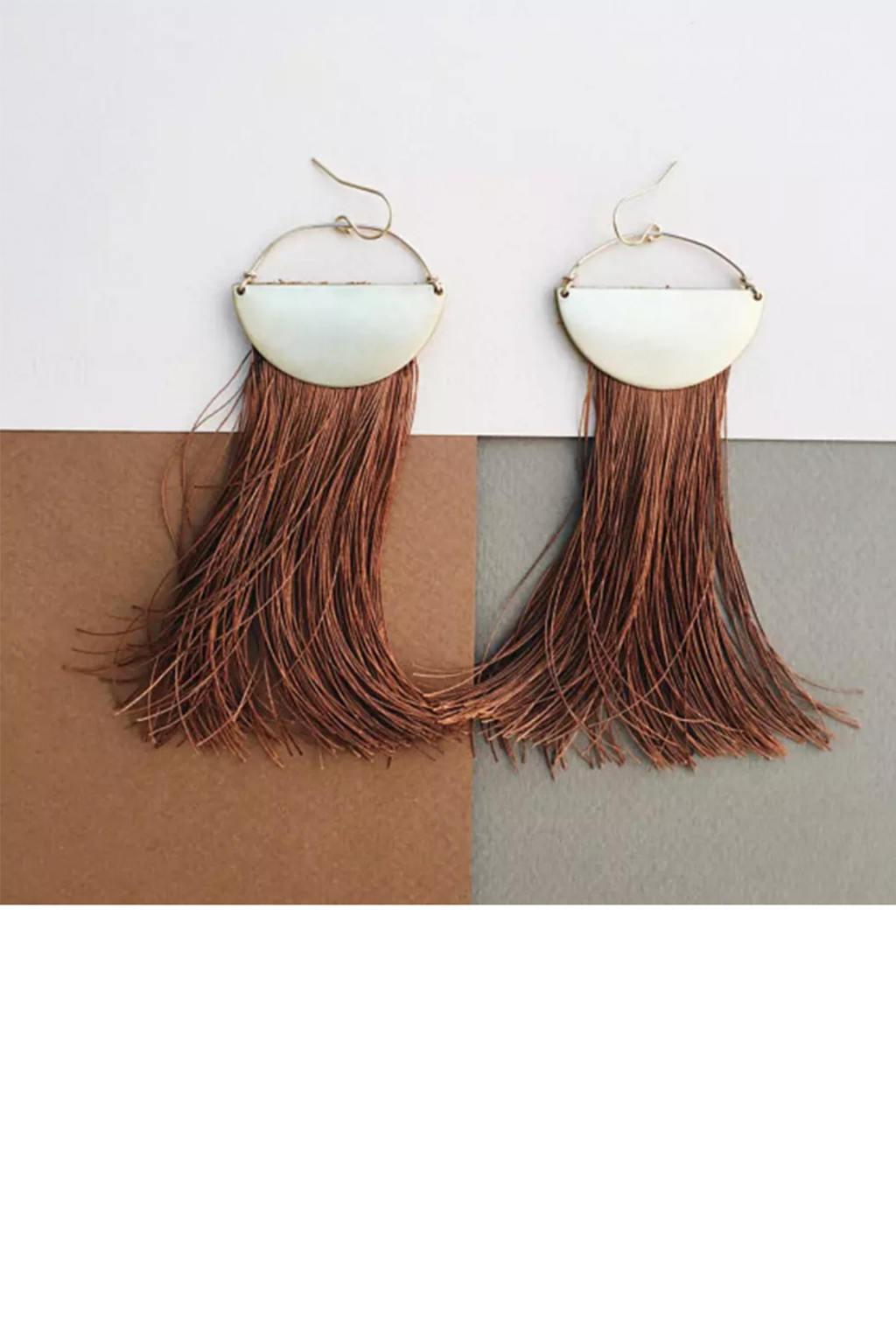 Tumble - On The Move: Pure Silk Tassel Earrings