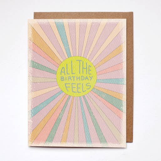 terra cotta birthday feels card