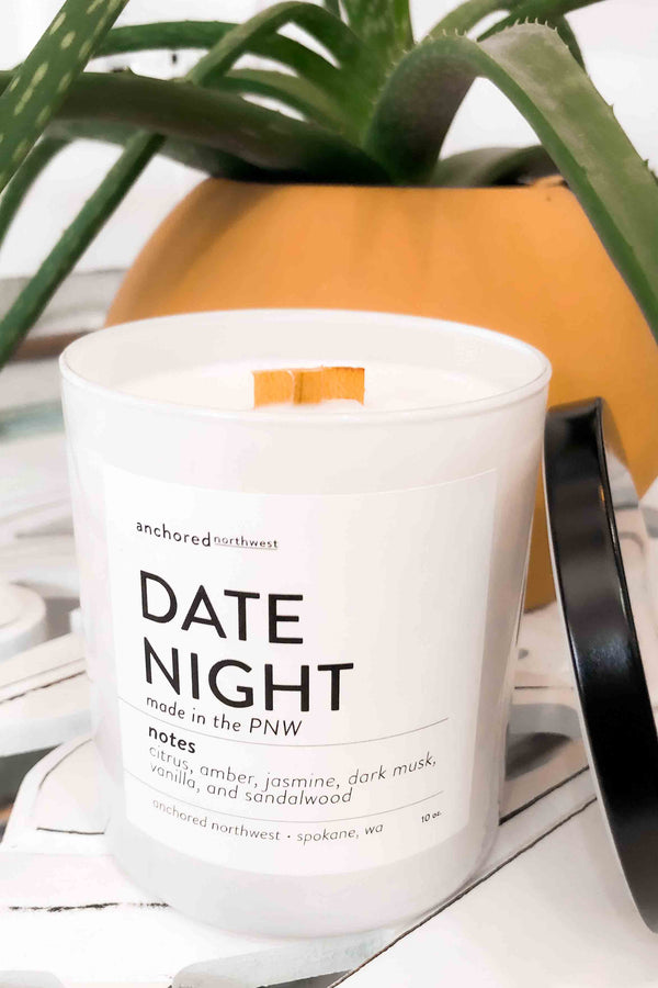 Date Night Soy Candle Terra Cotta