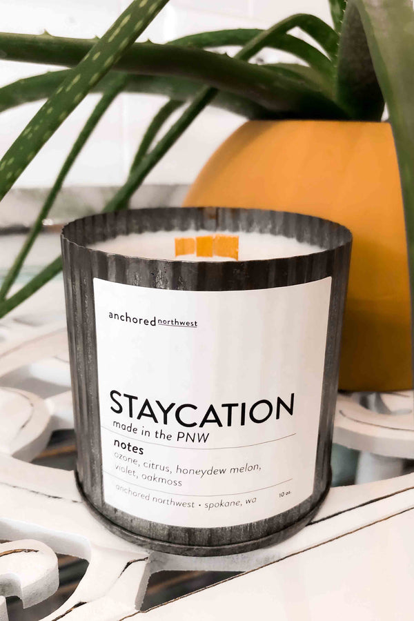 Stacation Soy Candle Terra Cotta