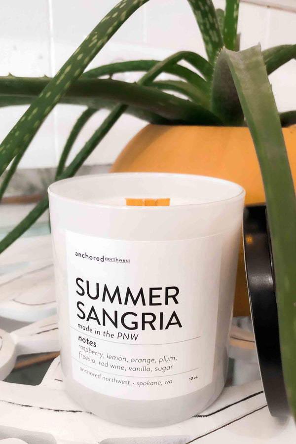 Summer Sangria Soy Candle Terra Cotta