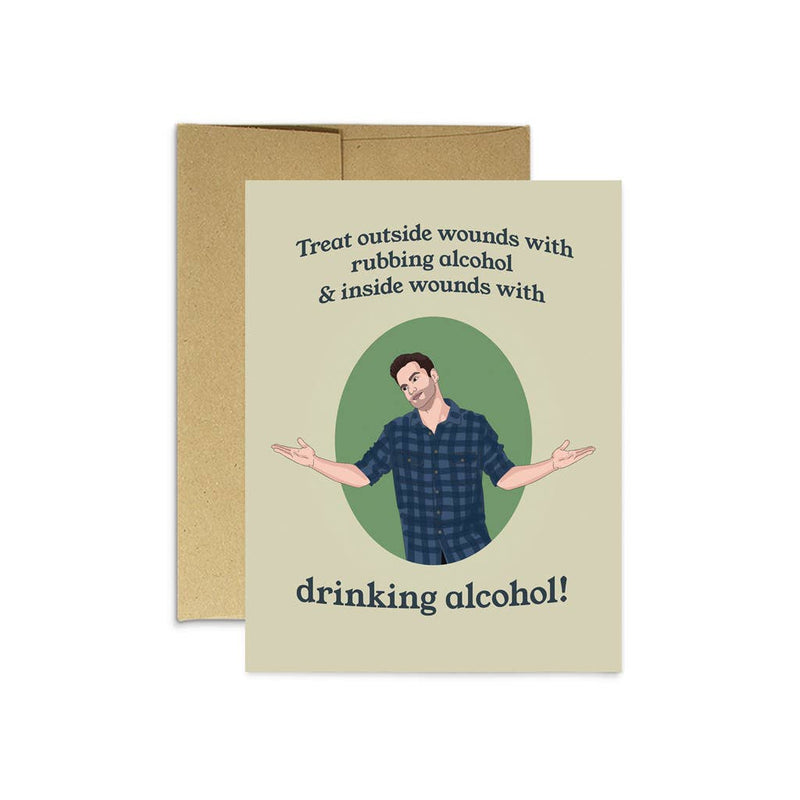 Nick Miller Alcohol