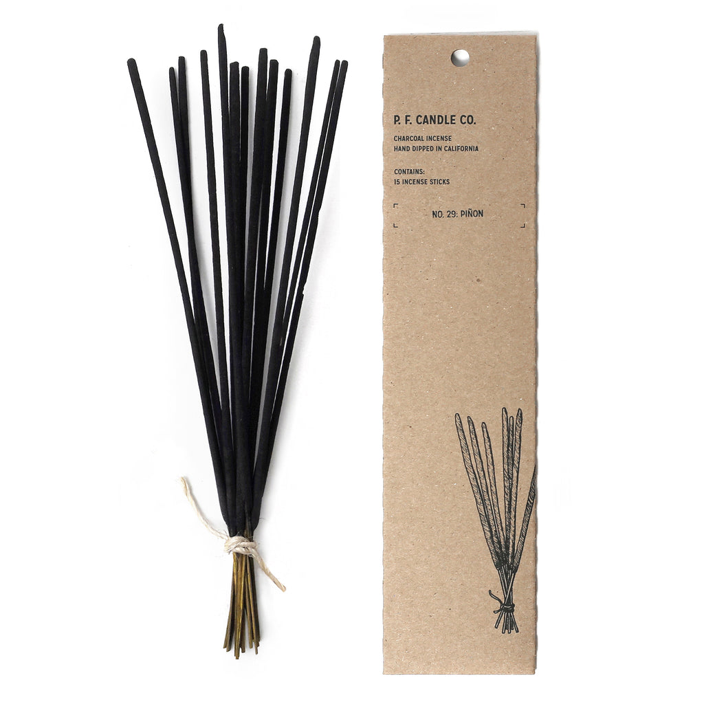 P.F. Candle Co. - Piñon Incense - Pack of 15