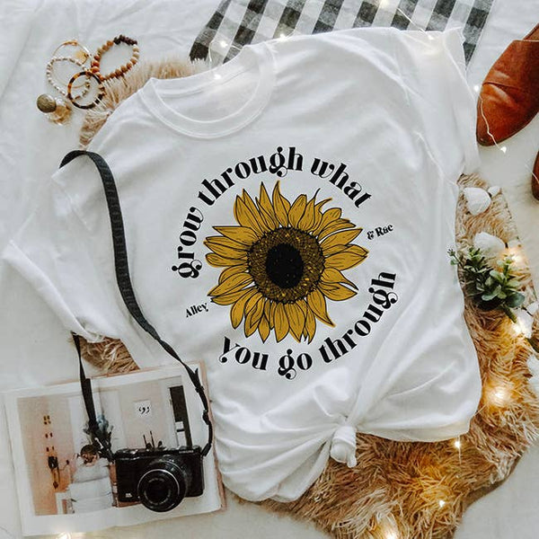 Grow Through What You Go Through Tee Shirt