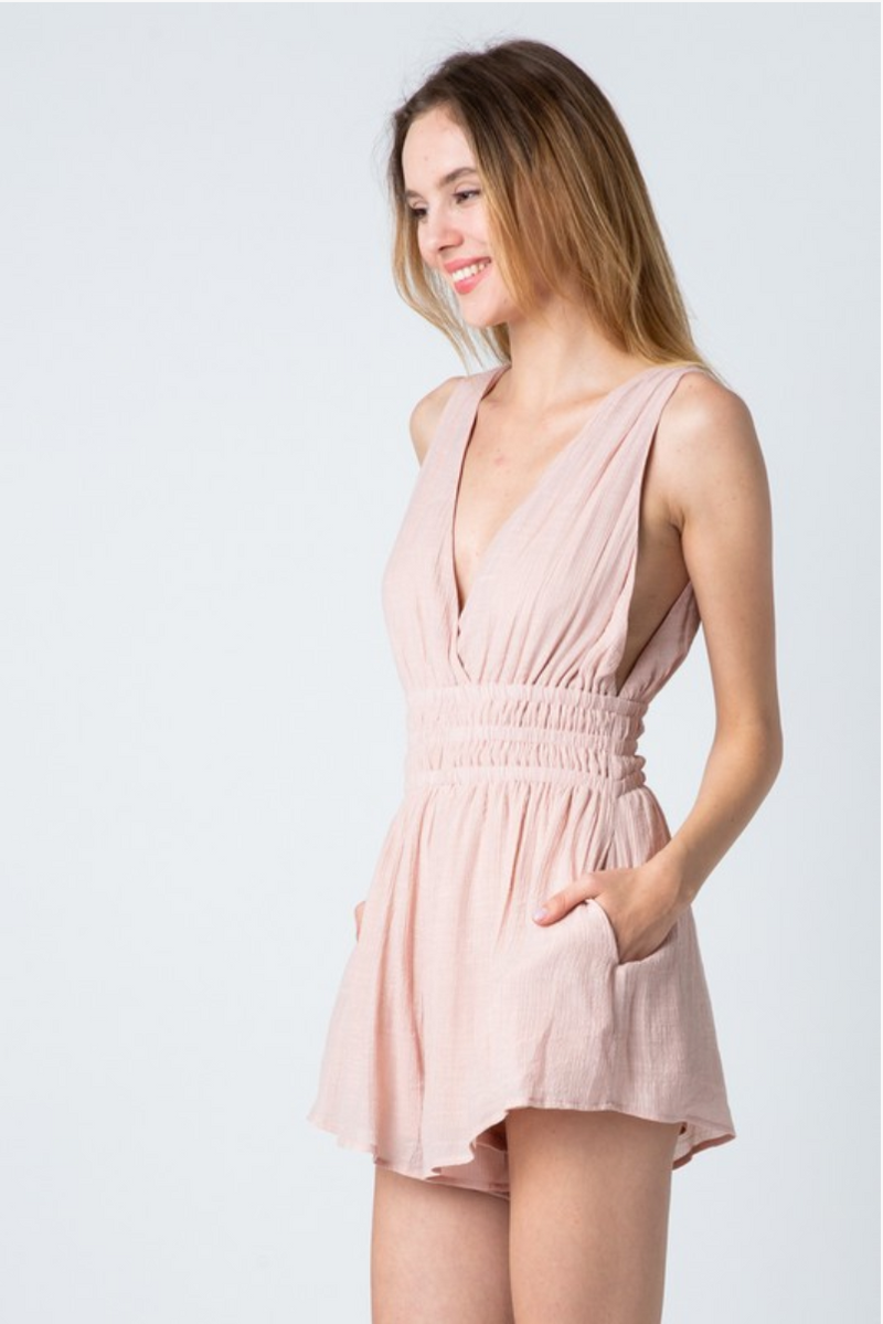 Greek Goddess Romper