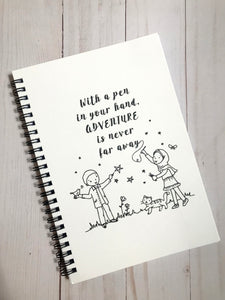 Adventurer Notebook