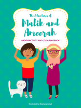 Load image into Gallery viewer, The Adventures of Malik and Ameerah (Activity Book)