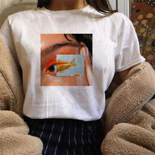 "Load image into Gallery viewer, ""Fish Eyes"" T-shirt"