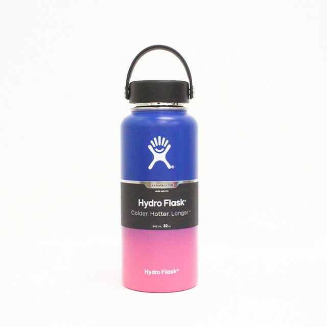 COLDEST Insulated Hydro-Flask Water Bottle - BLUEPINK
