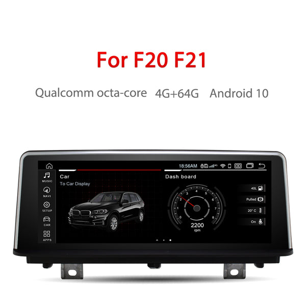 "Andream 8.8"" Android 10.0 4G+64G Qualcomm Octa-Core built-in 4G-LTE GPS navigation MultiMedia for BMW Series 1 2 F20 F21 2013-2017"