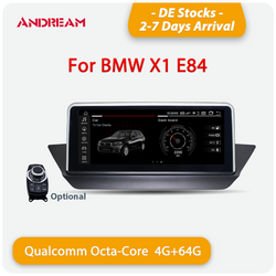 "Andream 10.25"" Android 10.0 4G+64G Qualcomm Octa-Core built-in 4G-LTE IPS Car Interface MultiMedia for BMW X1 E84 2009-2015 GPS navigation Head unit"