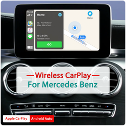 Andream Wireless Apple CarPlay Android Auto MMI Interface Adapter Prime Retrofit For Mercedes Benz NTG 4.5 4.7 4.8 5.0
