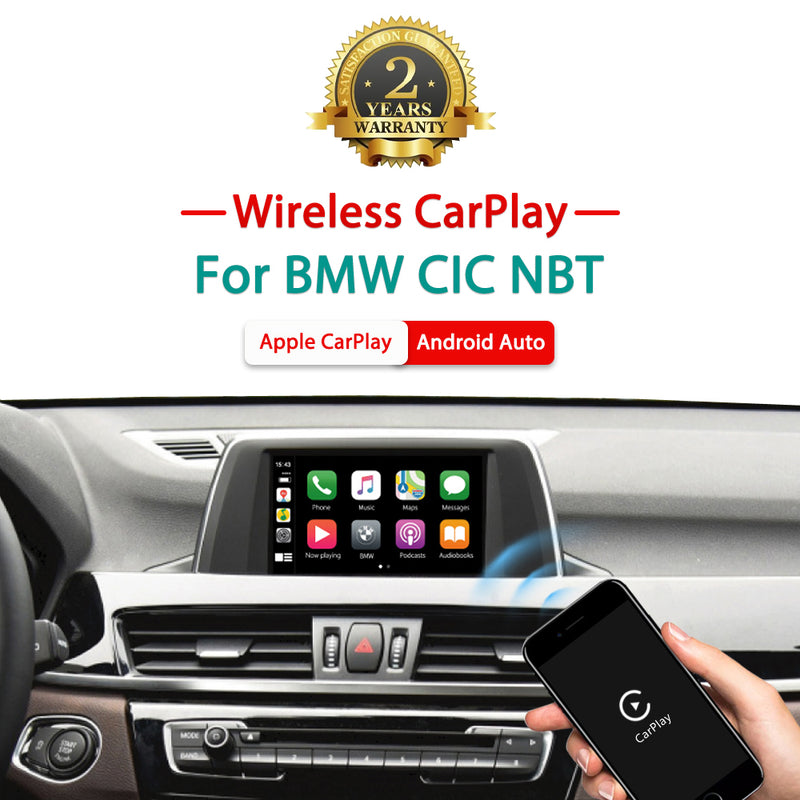 Wireless Apple CarPlay Android Auto MMI Interface Adapter Prime Retrofit For BMW CIC NBT EVO System Series 1 2 3 4 5 6 7 X1 X3 X4 X5 X6 X7 Mini I3
