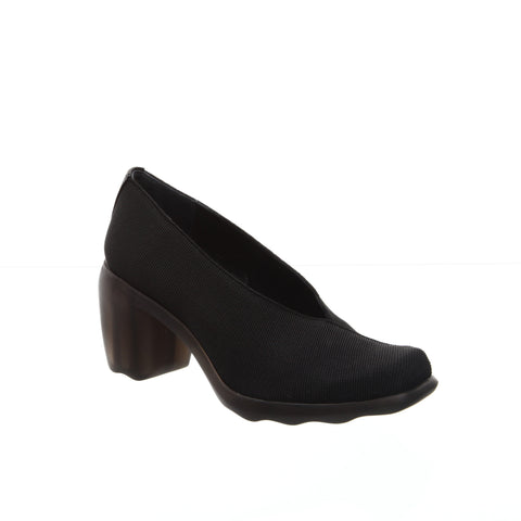 Audley Elast Black Pump