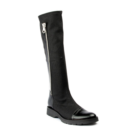 France Mode Polido/Crazy Noir tall boot