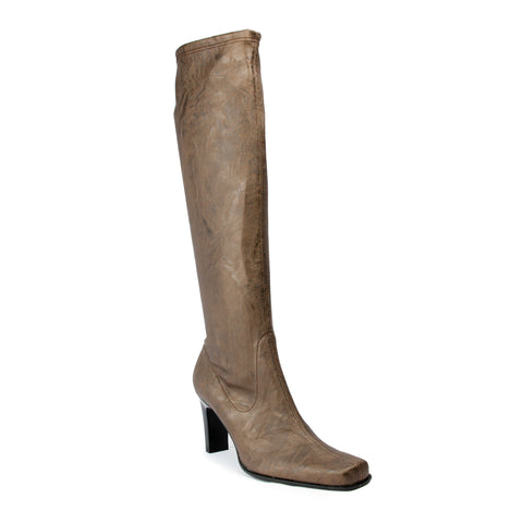 France Mode Montana Crazy Brown Tall Boot
