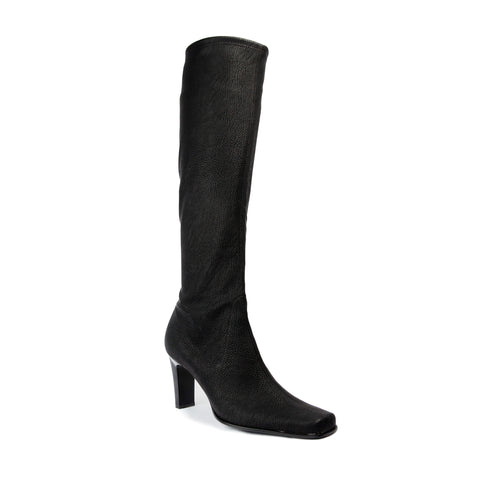 France Mode Montana Crazy Noir tall boot
