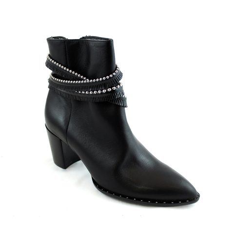 France Mode Obeline Ankle Boot Black