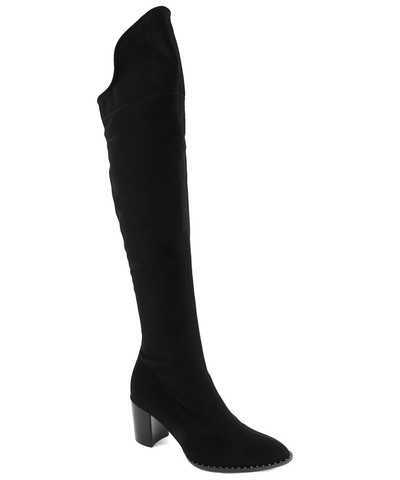 France Mode Olib Above the Knee Boot Black