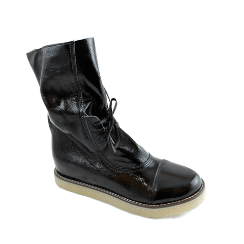 Lilimill Black Patent Boot