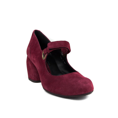 Audley Urban Suede Bordo
