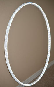 Silver Reflective Taped Hoops