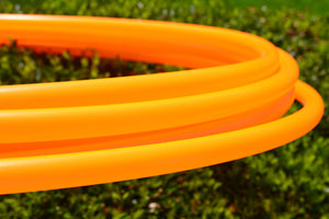 5/8 UV Orange Polypro Hoop