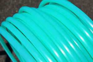 5/8 UV Green Calcite Polypro Hoops