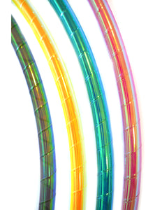 Black Pearl Opalescent Performance Taped Hoops