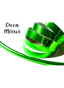 Fluorescent Green Mirror Taped Performance Hoops