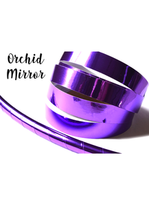 Orchid Purple Mirror Taped Performance Hoops