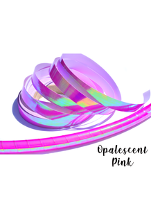Pink Opalescent Performance Taped Hoops
