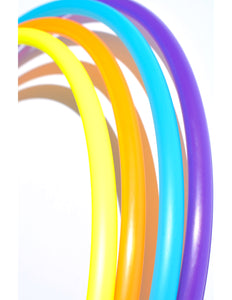 "Quad Mini Hoops - 17"" - 23"" Inch 5/8 Polypro Mini Hoops - Customize your own set!"