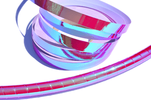 Rubellite Pink Color-Shift Performance Taped Hoops