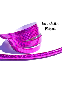 Rubellite Prism Taped Performance Hoops