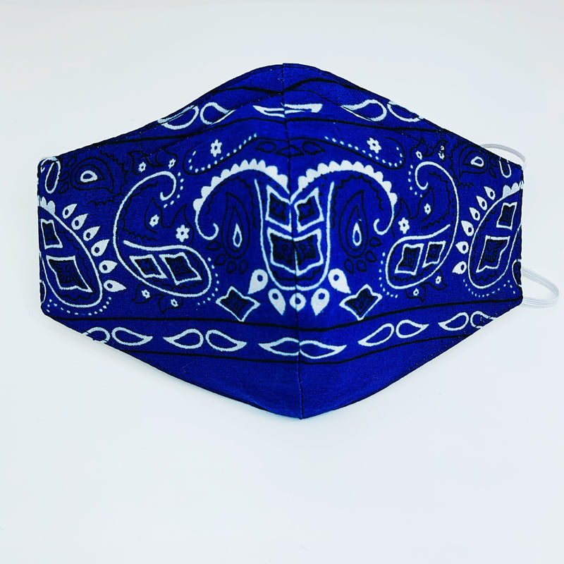"The Fall Bandana ""BLUE'S"""
